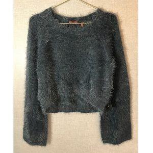 525 America Crop Sweater